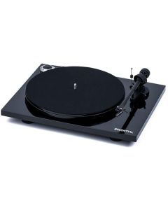 Project Essential III BT Turntable with Bluetooth and Phono PreAmp, Black - Ex-Display