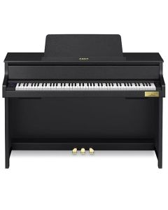 Casio GP310 Grand Hybrid Digital Piano, Satin Black inc. FREE Bang and Olufsen Headphones