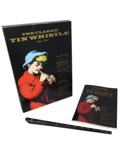 Clarke High D Whistle Set, Book and CD Included