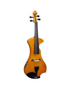 Hidersine HEV2 Electric Violin Outfit, Flamed Maple Veneer