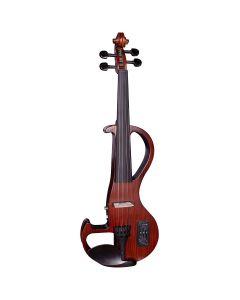 Hidersine HEV3 Electric Violin Outfit, Zebrawood Finish