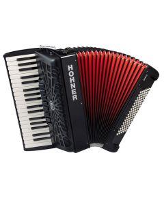 Hohner Bravo accordion III 96 37 96 111 7 3 f-f Black