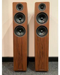 Acoustic Energy AE309 Floor standing Speakers, Walnut - Display Model