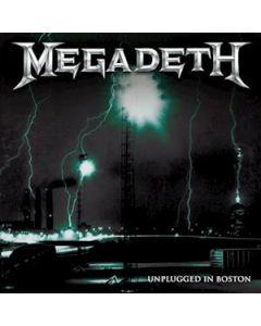 MEGADETH - UNPLUGGED IN BOSTON - RED VINYL