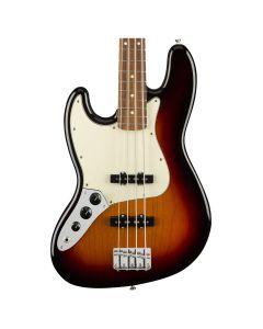 Fender Player Jazz Bass Left-Handed, Pau Ferro Fingerboard, 3-Color Sunburst
