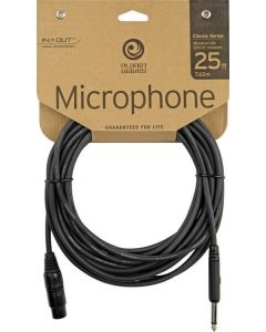 Planet Wave 25' 1 4-XLR Classic Series Unbalanced Microphone Cable