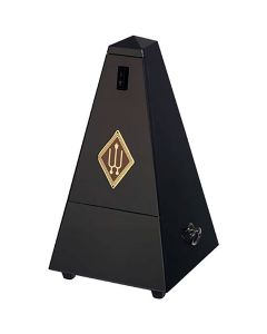Wittner W806 Wooden Pyramid Metronome, High Gloss Black