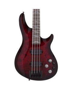 Schecter Omen Elite 4 Black Cherry Bass Guitar