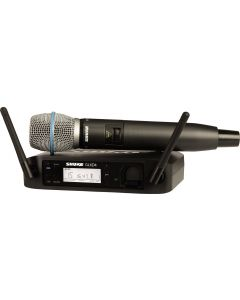 Shure GLXD24 Vocal System With BETA87A Handheld Transmitter