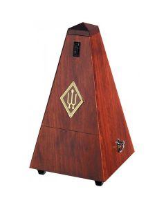 Wittner 1625 Wooden Pyramid Metronome, Satin Mahogany Finish