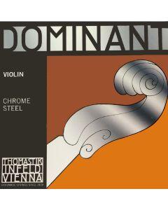 Thomastik Infeld Dominant Violin E String, Chrome Steel (Ball), Full Size