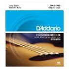 D'Addario Acoustic Bass Phosphor Bronze 045-100 Long