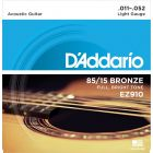 D'Addario 85 15 Bronze Light