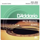 D'Addario 85 15 Bronze Medium Light