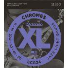 D'Addario XL Chromes Jazz Light
