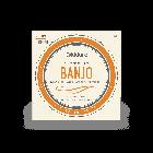 D'Addario 5-String Banjo Strings, Nickel, Medium 10-23