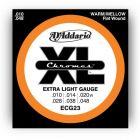 D'Addario XL Chromes Extra Light