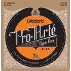 D'Addario Pro-Arte Nylon Classical Guitar Strings, Light Tension
