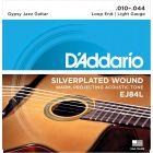 D'Addario Set Gypsy Jazz Silver Wound Light Strings