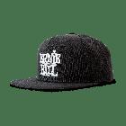 Ernie Ball Cap Black With Stacked White Logo