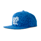 Ernie Ball Cap Blue With Stacked White Logo