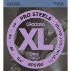 D'Addario XL ProSteels Bass 040-100 Long