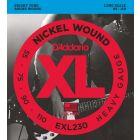 D'Addario XL Nickel Wound Bass 055-110 Long