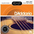 D'Addario EXP Phosphor Bronze Extra Light