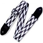 Levy's Prints Polyester w Suede Ends 2 Offset Arrow - Black-White