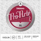 D'Addario Pro-Arte Violin String Set, 4/4 Scale, Medium Tension