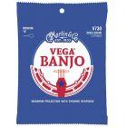 Martin Vega Banjo Strings Medium (010 - 023 and 010)